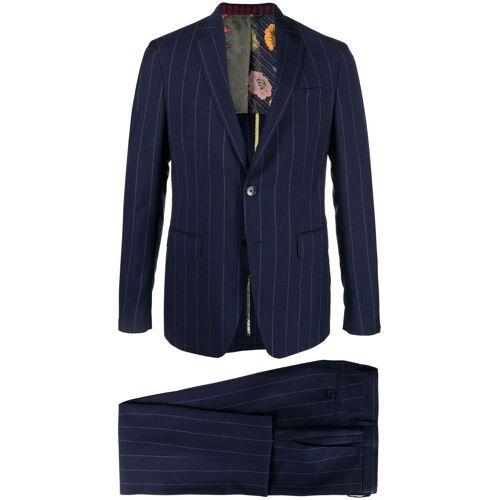 Etro Zweiteiliger Anzug mit Nadelstreifen - Blau Male regular