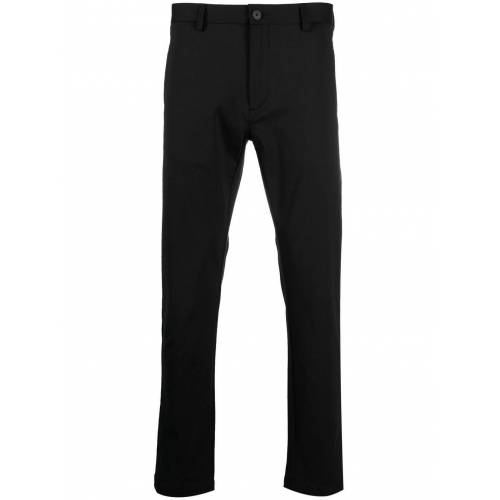 HUGO Knitterfreie Slim-Fit-Hose - Schwarz Male regular