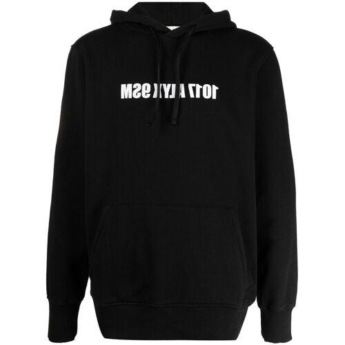 1017 ALYX 9SM Hoodie mit umgedrehtem Logo - Schwarz Male regular