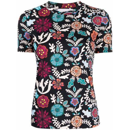 La Doublej T-Shirt mit Jazzercize-Print - Schwarz Male regular