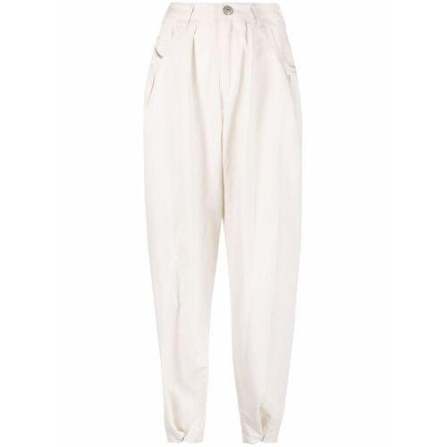 Diesel Hose mit lockerem Schnitt - Weiß Male regular