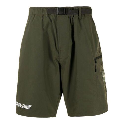 izzue Izzue Army Shorts mit Gürtel - Grün Male regular