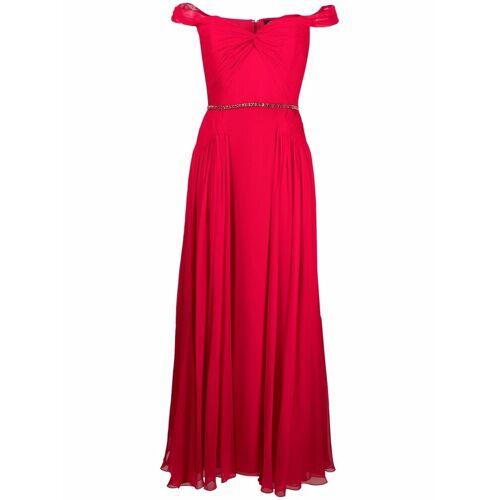 Jenny Packham Schulterfreies Abendkleid - Rot Male regular