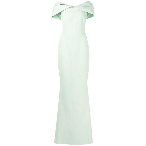 Safiyaa Schulterfreies Abendkleid - Grün Male regular