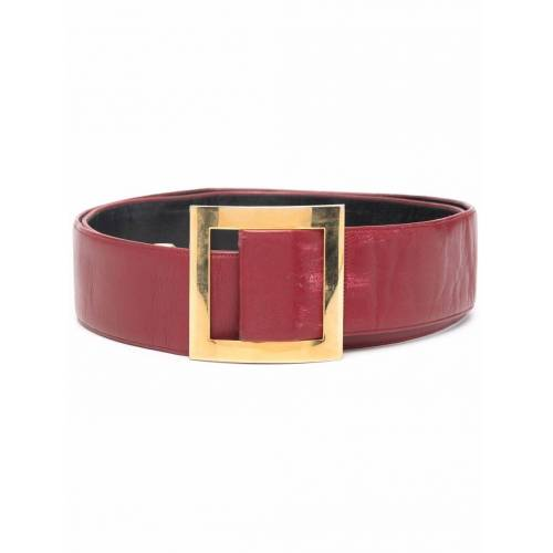 Chanel Pre-Owned 2000s Gürtel - Rot Male regular