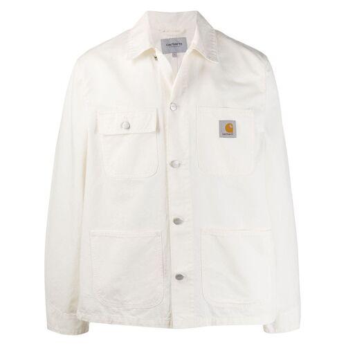 Carhartt WIP 'Michigan' Jeansjacke - Weiß Male regular