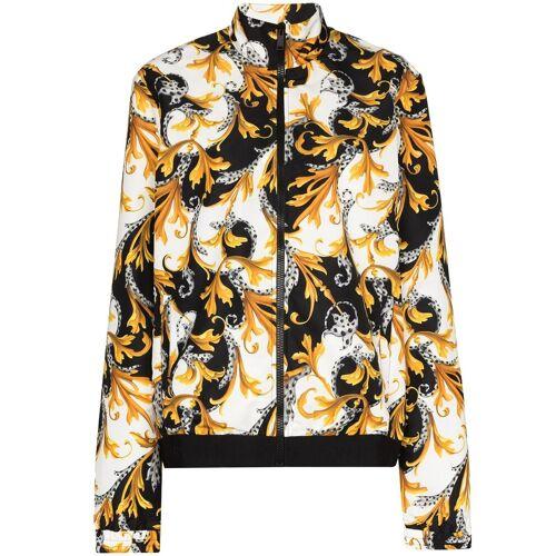 Versace Jacke mit Barock-Print - Weiß Male regular