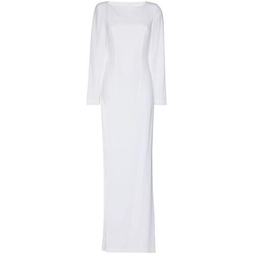 Mônot Rückenfreies Kleid - Weiß Male regular