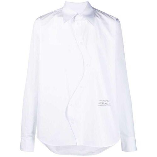 Off-White Hemd mit verdrehter Front - Weiß Male regular