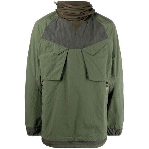 Maharishi Riverine Tech Ghostface Jacke - Grün Male regular