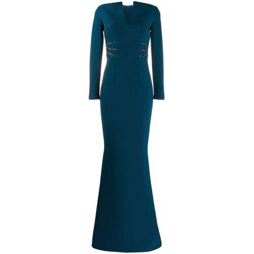 Safiyaa Abendkleid im Meerjungfrauen-Stil - Blau Unisex regular