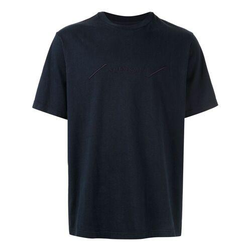 Supreme T-Shirt mit Stickerei - Blau Unisex regular
