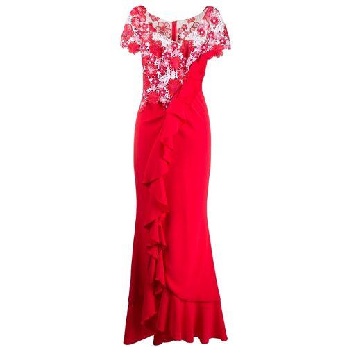 Talbot Runhof 'Boccacio' Abendkleid - Rot Unisex regular