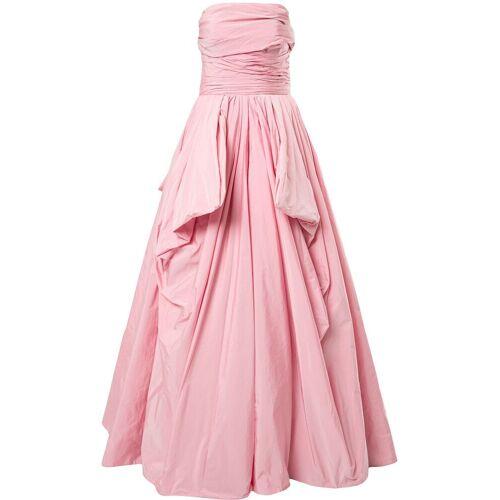 Zuhair Murad Schulterfreies Abendkleid - Rosa Male regular