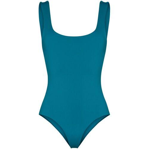BONDI BORN Rückenfreier Badeanzug - Blau Female regular