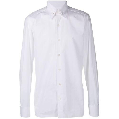TOM FORD Hemd mit Kragennadel - Weiß Female regular