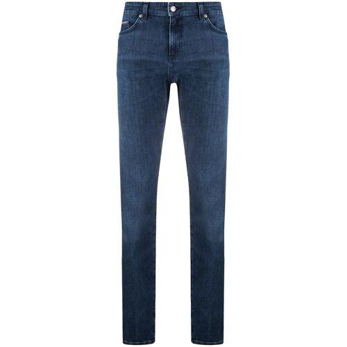 Boss Hugo Boss Italian Slim-Fit-Jeans - Blau Female regular