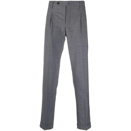 Pt01 Hose mit eingelegten Falten - Grau Unisex regular