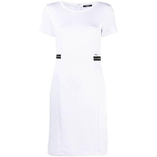 LIU JO Kristallverziertes Abendkleid - Weiß Unisex regular