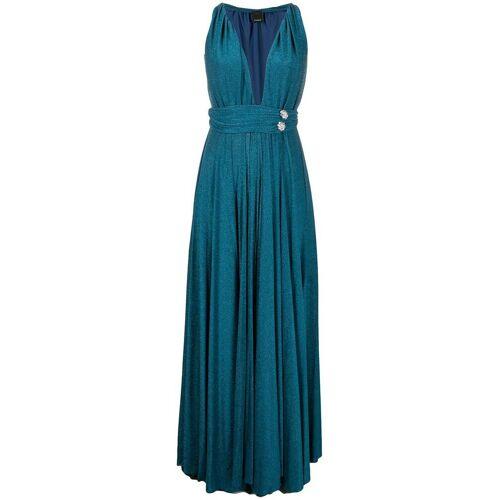Pinko Abendkleid mit Kristallen - Blau Female regular