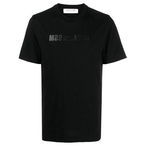 1017 ALYX 9SM T-Shirt mit umgedrehtem Logo - Schwarz Unisex regular
