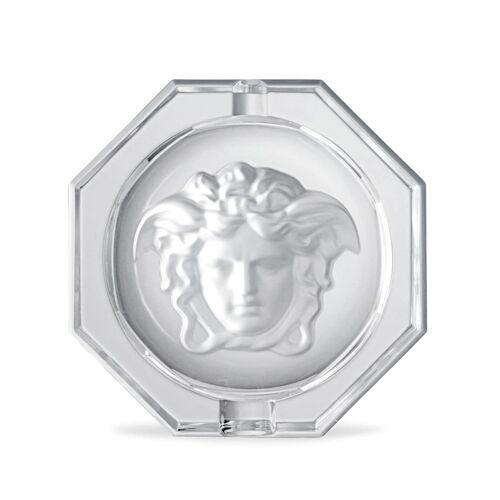 Versace Medusa Aschenbecher aus Kristall - Weiß Unisex regular