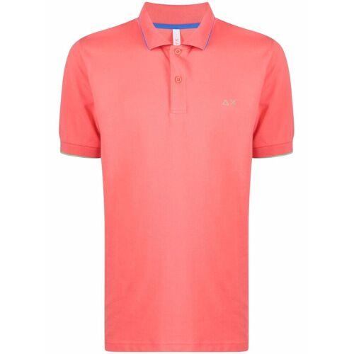 Sun 68 Besticktes Poloshirt - Rosa Female regular