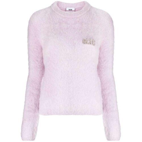 Gcds Pullover mit Kristallen - Violett Unisex regular