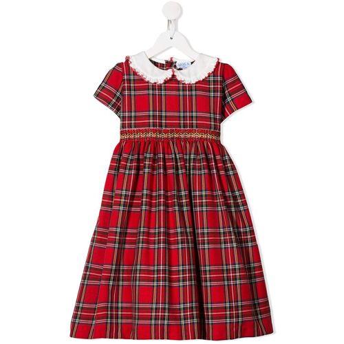 Siola Kleid mit Schottenkaro - Rot Male regular