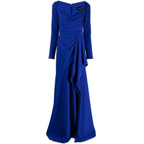 Tadashi Shoji Drapiertes Abendkleid - Blau Female regular