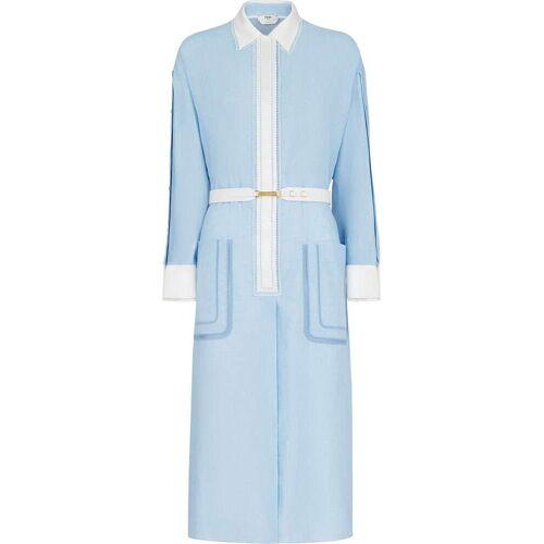 Fendi Mittellanges Kleid - Blau Male regular