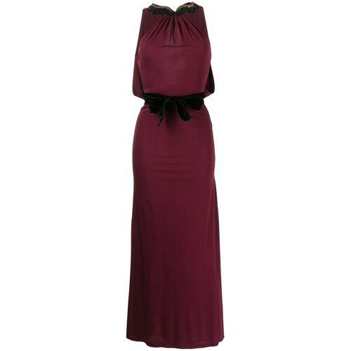 Gucci Pre-Owned Rückenfreies Abendkleid - Rot Male regular