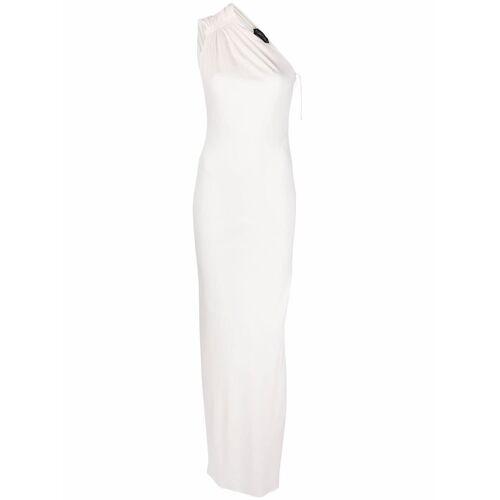 TOM FORD Bodenlanges One-Shoulder-Abendkleid - Weiß Female regular