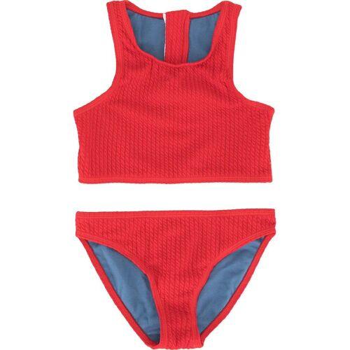 Duskii Girl 'Yara' Bikini mit Reißverschluss - Rot Male regular