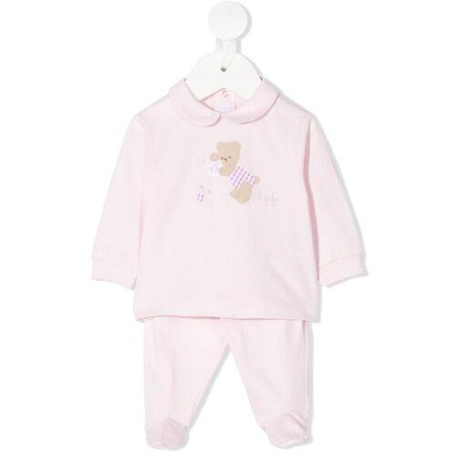 Il Gufo Pyjama-Set mit Teddy-Patch - Rosa Female regular
