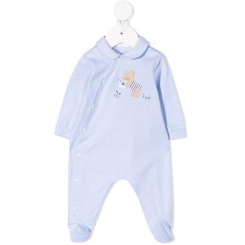 Il Gufo Pyjama mit Teddy-Patch - Blau Female regular