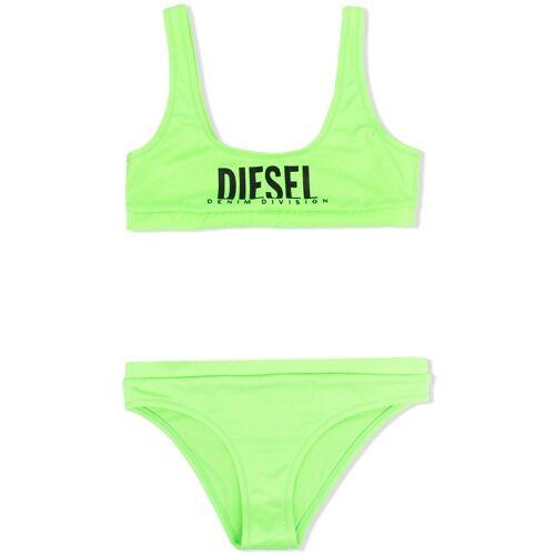 Diesel Kids Bikini mit Logo - Grün Unisex regular