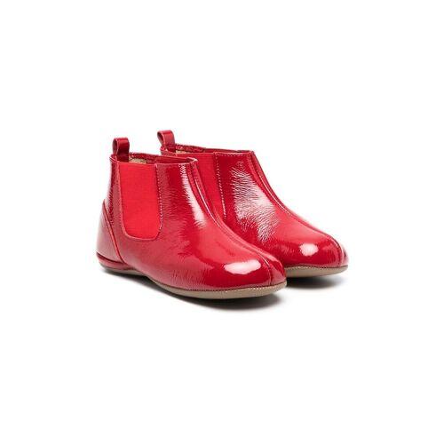 Pèpè Chelsea-Boots aus Lackleder - Rot Unisex regular