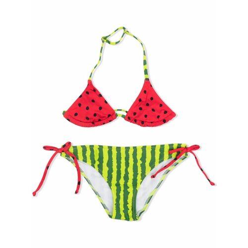 Mc2 Saint Barth Kids Bikini mit Wassermelonen-Print - Grün Female regular