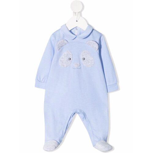 Il Gufo Panda Pyjama - Blau Unisex regular
