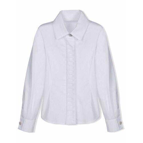 Lapin House Hemd mit Kristallknöpfen - Weiß Male regular