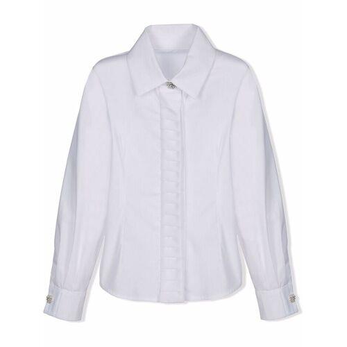 Lapin House TEEN Hemd mit Kristallknöpfen - Weiß Unisex regular