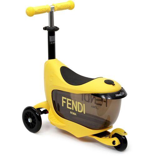 Fendi Kids Micro Baby-Schieberoller - Schwarz Male regular