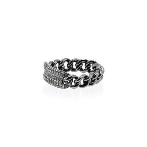 SHAY Ring im Metallic-Look - Metallisch Female regular