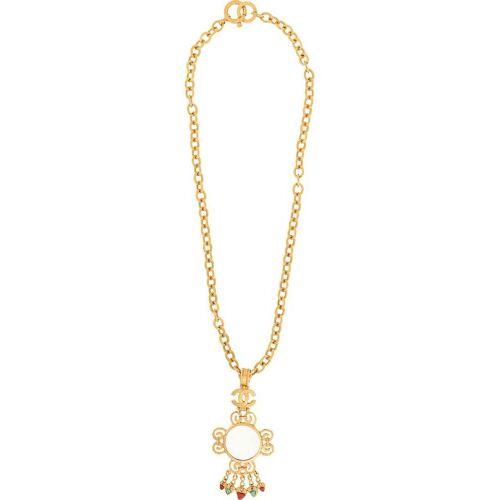 Chanel Pre-Owned Halskette mit Lupe - Gold Unisex regular