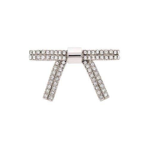 Miu Miu Haarschleife mit Kristallen - Silber Female regular