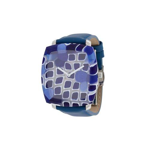 Yunik Eckige Armbanduhr - Blau Male regular