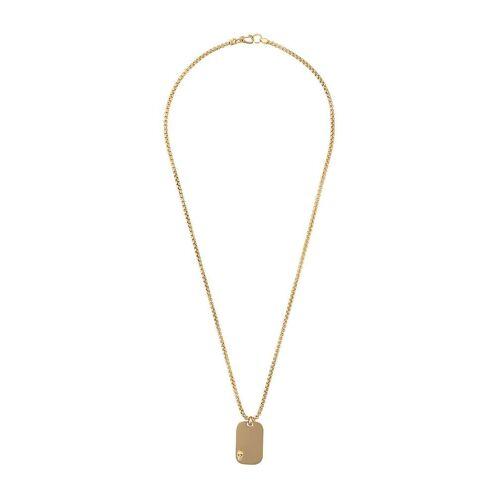 Northskull Halskette mit Totenkopf - Gold Male regular