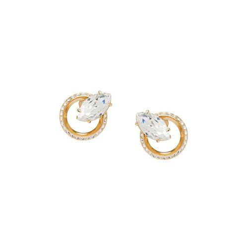 Miu Miu 'New Crystal Jewels' Ohrringe - Gold Female regular