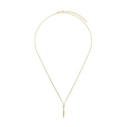 True Rocks Halskette mit Messer - Gold Male regular